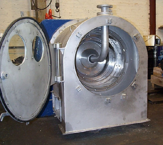 Open Pusher Type Centrifuge