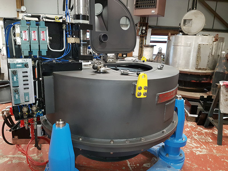 Refurbished Centrifuge Ready for Installation
