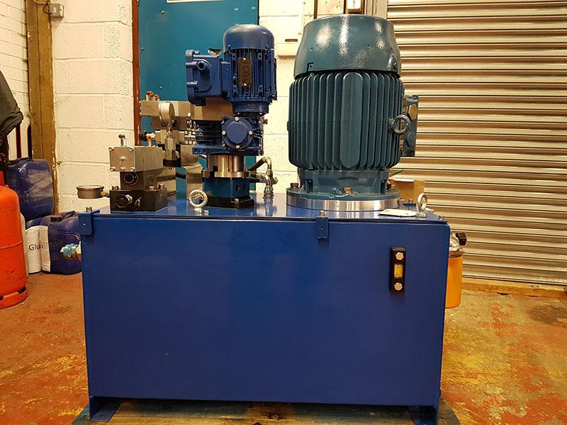 Refurbished Centrifuge in workshop