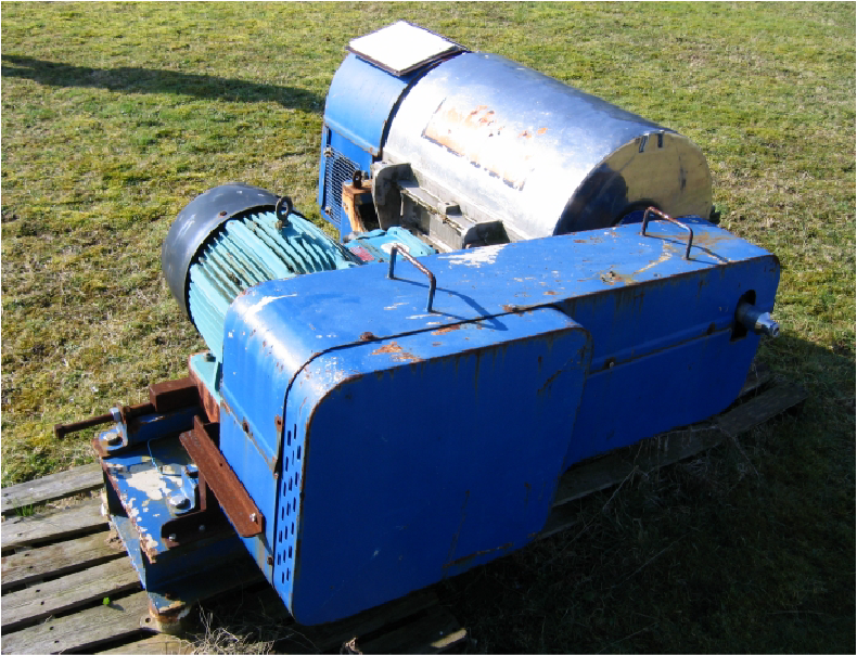 Centrifugal Machinery on  Grass